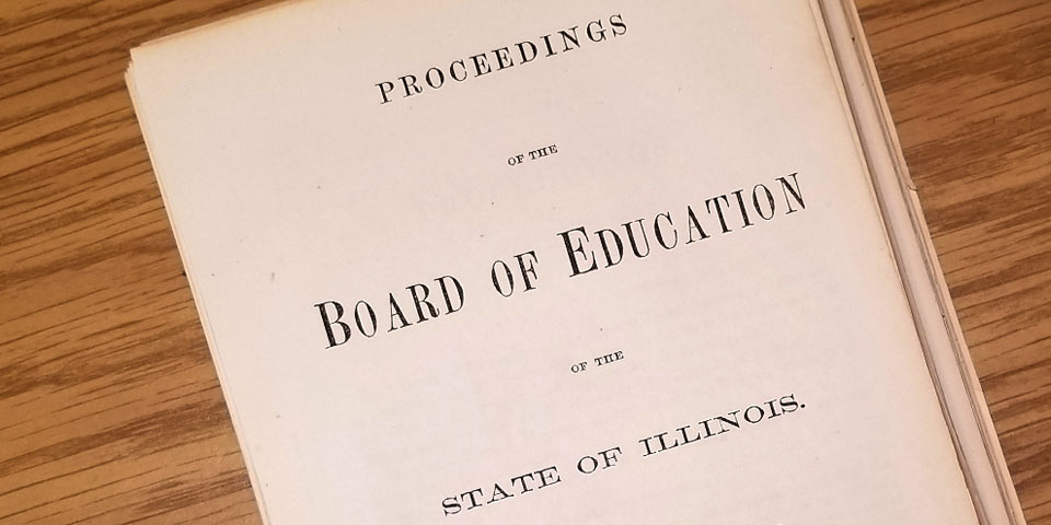 Archived ISU Board of Education report
